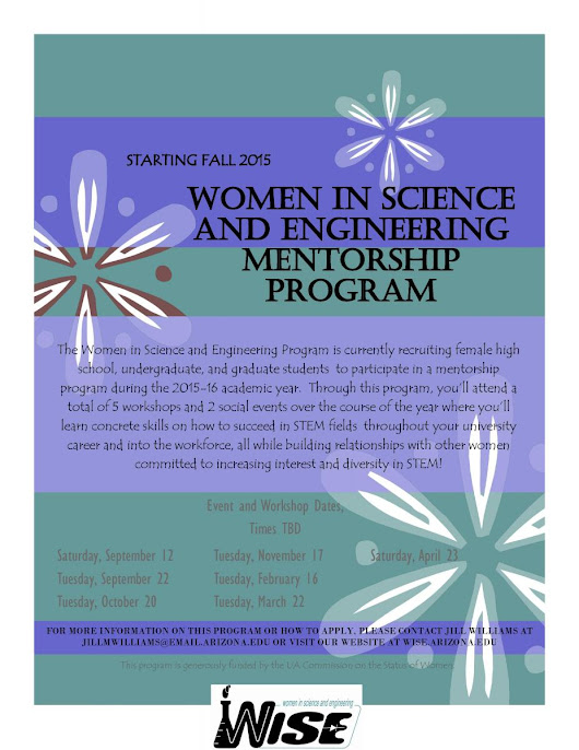 Pipeline Mentorship Program | Women in Science and Engineering (WISE)