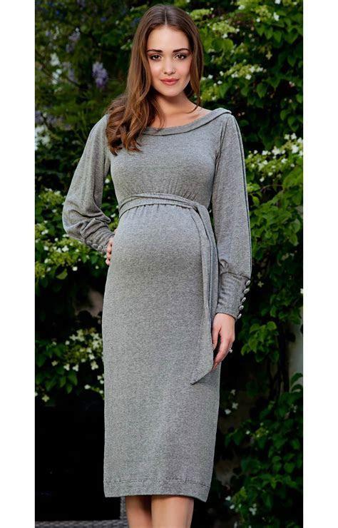 Alicia Maternity Dress (Storm Grey)   Maternity Wedding