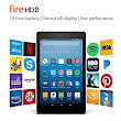 Fire HD 8 - Amazon Official Site - Up to 12 hours of battery. Vibrant HD display. Fast performance.