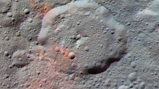 Astronomers Discover Evidence for Organic Material on Ceres
