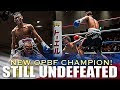 Jayr Raquinel KO's Keisuke Nakayama for the OPBF Title - Highlights