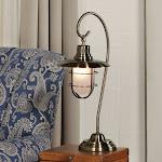 Lite Source Lanterna Antique Brass Table Lamp LS-21455AB