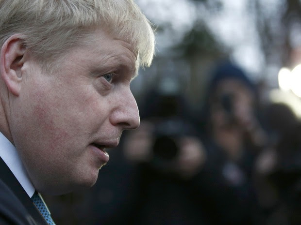 Boris Johnson, prefeito de Londres (Foto: REUTERS/Peter Nicholls)