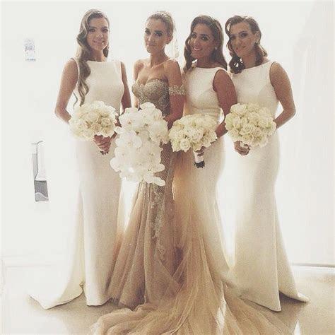 Best 25  Cream bridesmaid dresses ideas on Pinterest