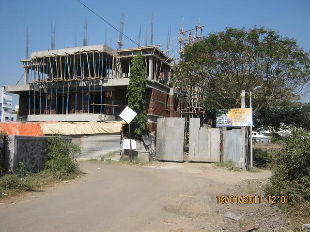 View of A J Serene, 3 & 4 BHK Duplex in Ram Indu Park, Baner, Pune 411 045