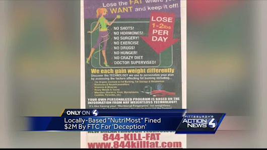 Locally-based weight-loss company pays $2 million in settlement with FTC