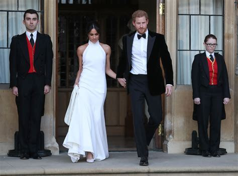 Meghan Markle Wears Second Wedding Dress at Reception   Time