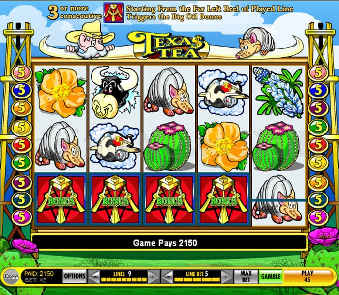 Texas tea slot game free online