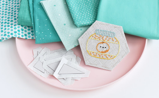 epp // jam of the month club mini quilt pattern
