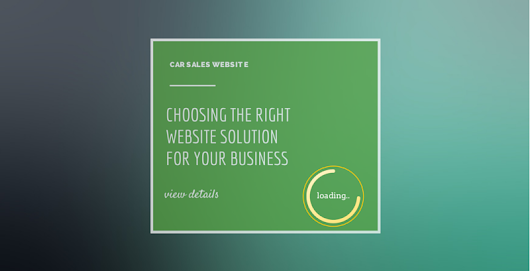 Choosing The Right Website Solution » Velozity Automotive