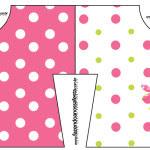 Convite Camisa Páscoa para Meninas: