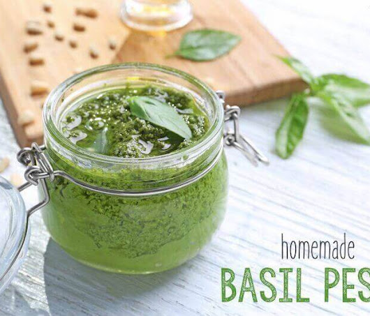 Healthy Basil Pesto Recipe | Wellness Mama