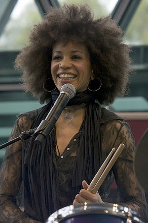 Cindy Blackman Federation Square, Melbourne, M...
