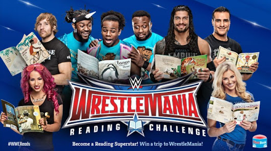 WrestleMania Reading Challenge offers sweepstakes to encourage participation - American Sweepstakes