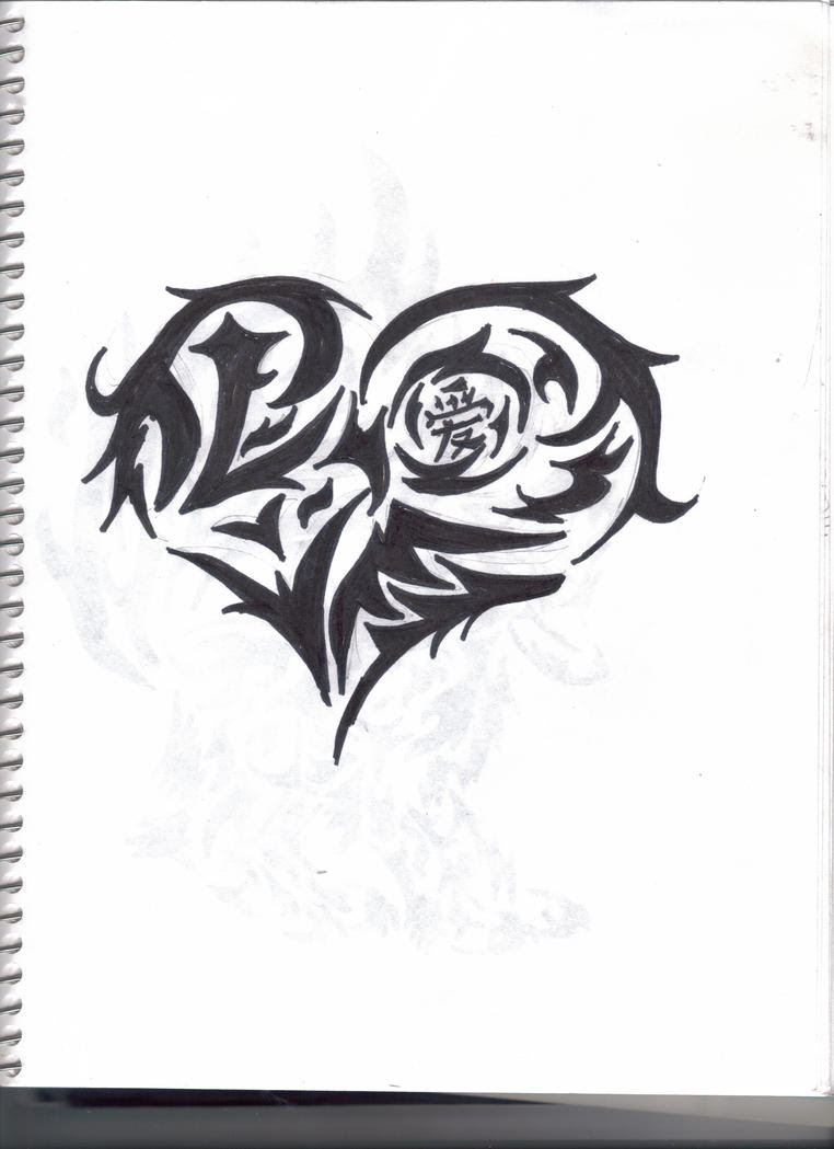 Heart Tattoo Designs Gallery 9
