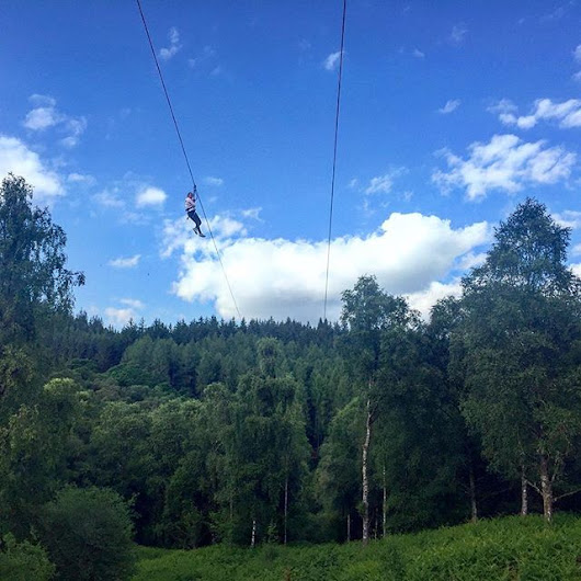 GoApe Adventures In The Forest of Dean, Gloucestershire