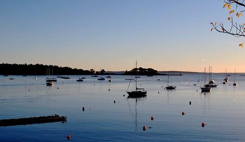 The Stillness of Camden Harbor