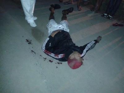 Homem foi assassinado às margens da BR-330 (Foto: Ubatã Notícias)
