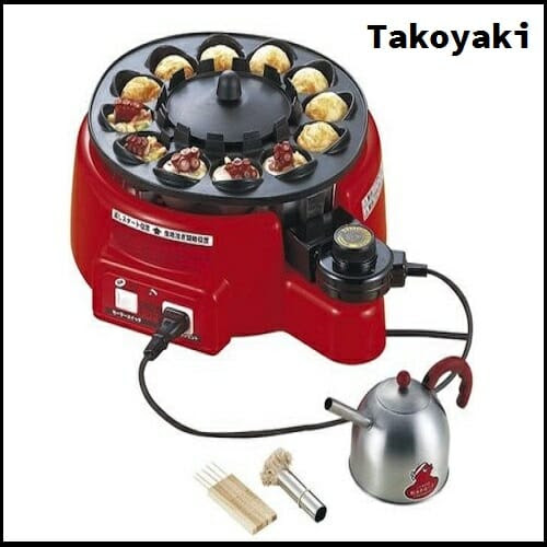 Takoyaki Machine Automatically Flips Food While Cooking | your amazing gift