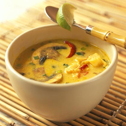 Spicy Thai Lobster Soup