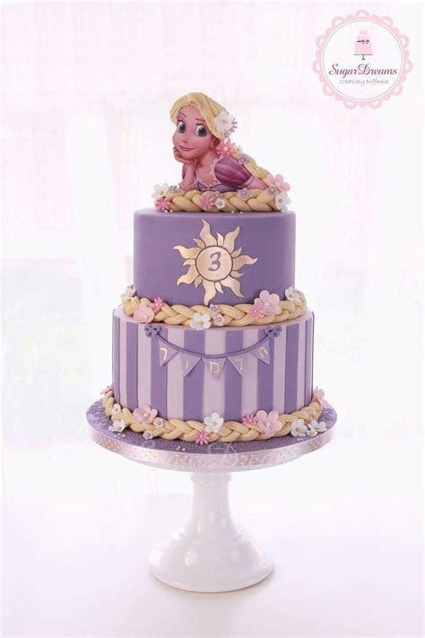 Tangled Rapunzel   ? Let Us Eat Cake!   Rapunzel cake