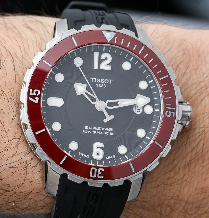 Tissot Seastar  Watch Hands On Upgrades