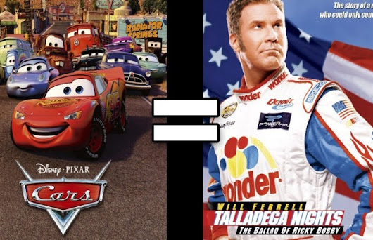24 Reasons Cars & Talladega Nights Are The Same Movie | FizX