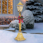 6' Lamp Post with 120 LED Lights
