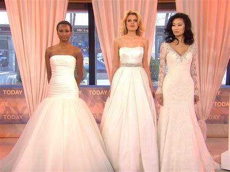 Wedding dresses inspired by Carrie Underwood, J.Lo