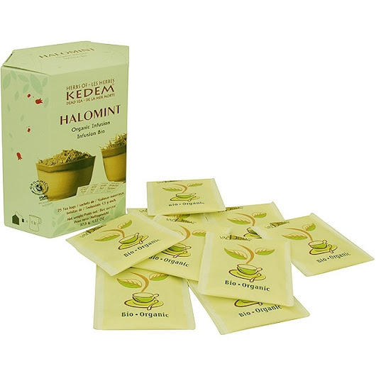 'Halomint' Tea by Kedem Herbs - Organic Infusion Sleeping Aid and Relaxant