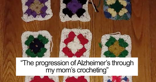 Daughter Shows What Alzheimer's Did To Her Mother Over 2 Years, And Her Last Works Will Break Your Heart