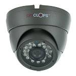 Spyclops SPY-MINIDOMEG Mini-Dome Indoor 24 IR Nightvision CCTV Security Camera - Grey