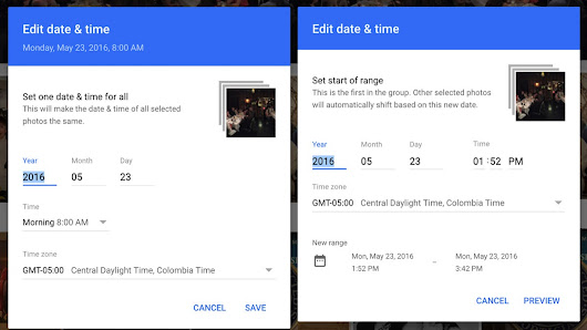 Google Photos enables batch editing of dates & times