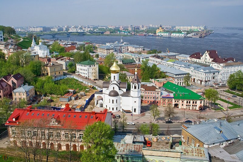 Нижний Новгород города, история, название, происхождение, россия