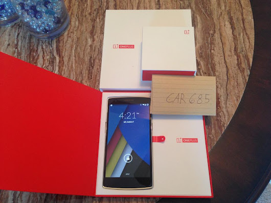 OnePlus One (Unlocked) For Sale - $335 on Swappa (CAR685)