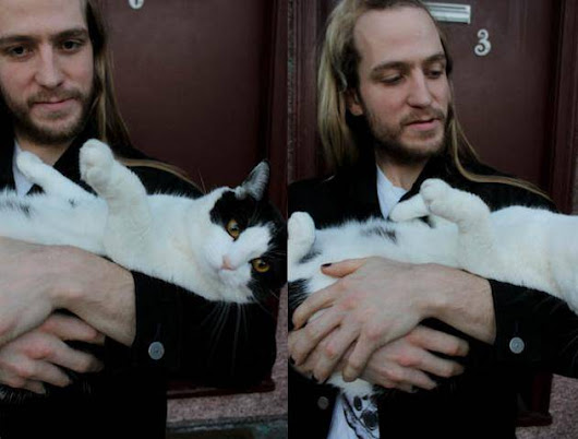 Bands with cats featuring Max Slade from Lying Eyes