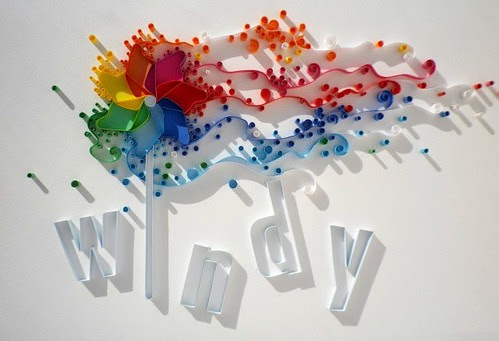 Papergraphic windy