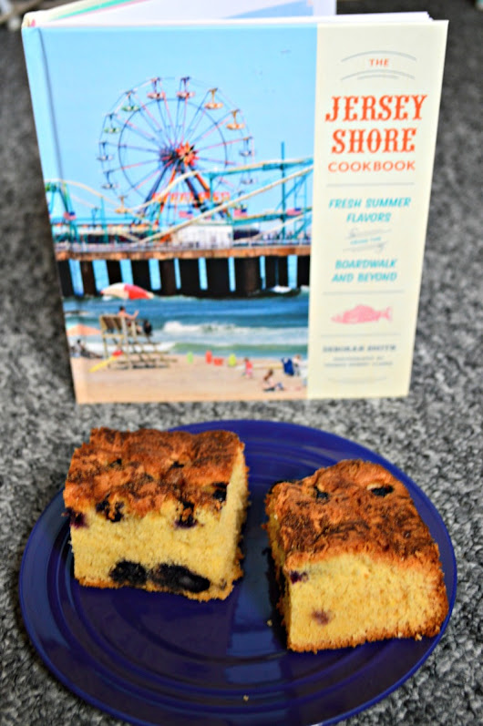 Blueberry Crumble and the Jersey Shore Cookbook