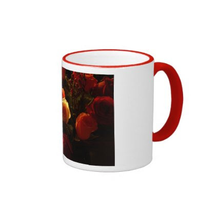 Roses I - Orange, Red and Gold Glory Coffee Mug