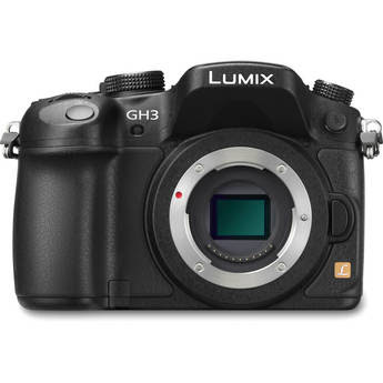 Panasonic Lumix DMC-GH3 Mirrorless Micro Four Thirds Digital Camera (Black) IN STOCK