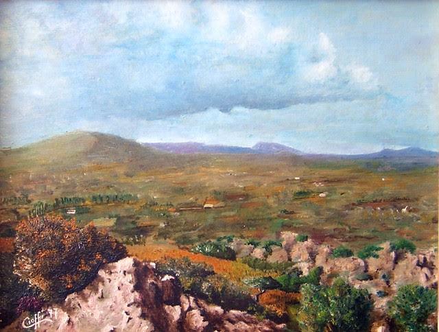 La valle del Rio d'Oliena