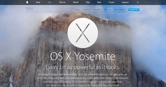 OS X Yosemite Upgrade Now Available For Compatible Macs - Techaeris