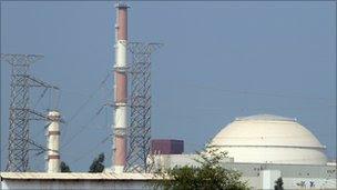 Bushehr nuclear reactor - 29 Sept 2010