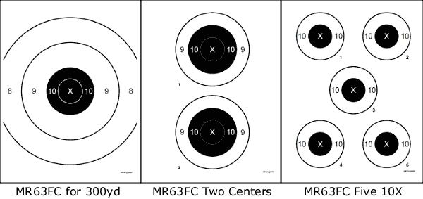Reduced-Distance F-Class Targets for Practice at 300 Yards « Daily ...