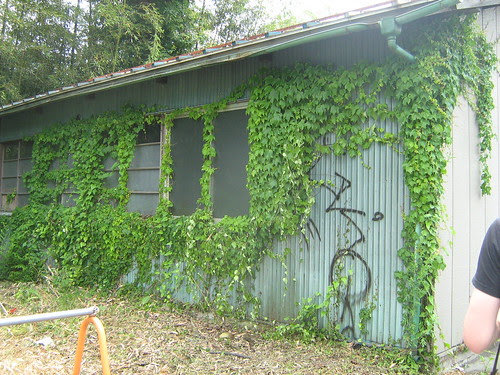 Abandoned warehouse in Sagamiko