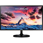"Samsung S24F350FHN - 24"" LED Monitor - FullHD - Glossy Black"