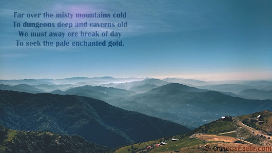 Wallpaper - Misty Mountains