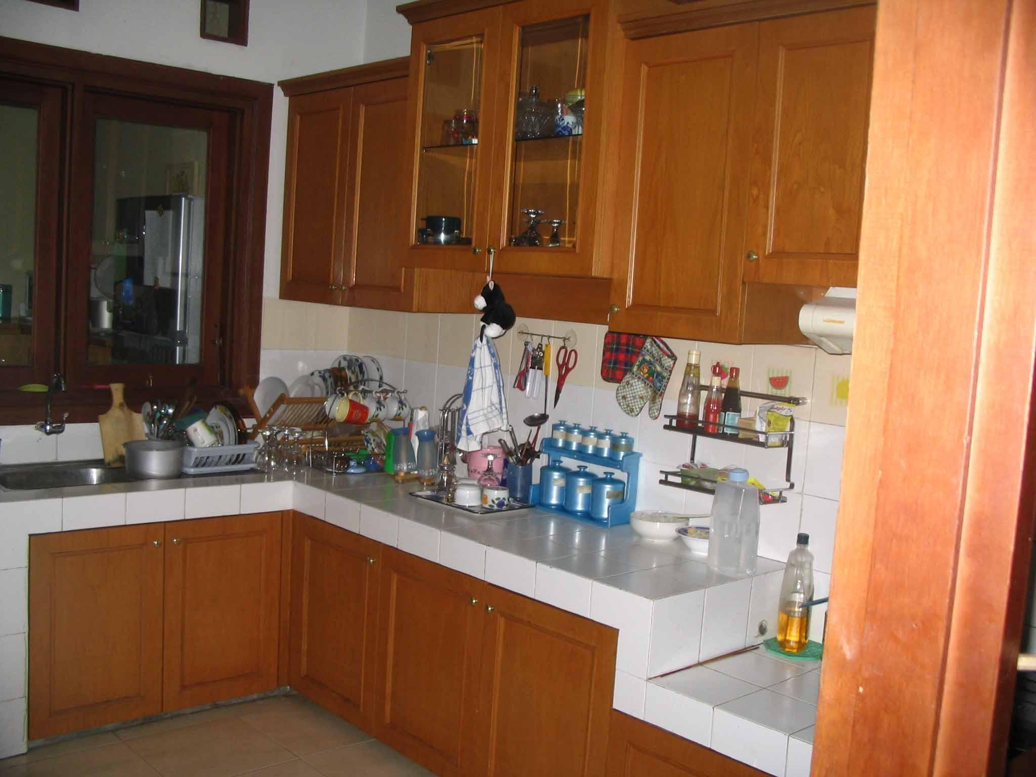 Contoh desain dapur rumah minimalis