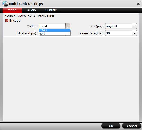 Customize video settings