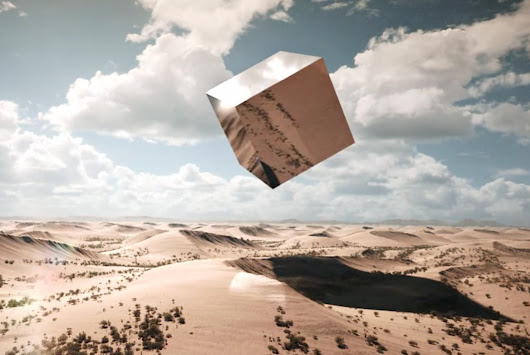 A Cube Roams A Dystopian Earth In New CGI Animation | The Creators Project